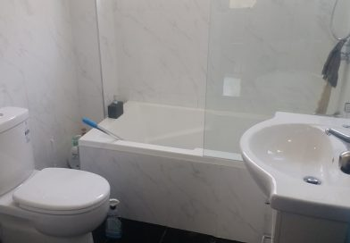 Brand New Shower and Bath at Blaxcell